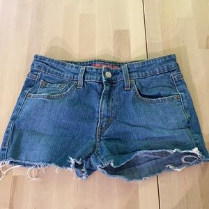 2/$15 Levi Jean shorts